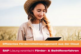 Referenzfilm: Digitales Fördermittelmanagement aus der Cloud